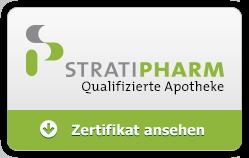 STRATIPHARM Zertifikat